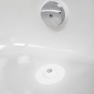 Umbra - Bouchon baignoire en plastique blanc