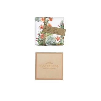 CASTELBEL - Pain de savon parfumé rose Cactus 145g