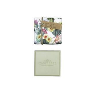 CASTELBEL - Pain de savon parfumé verveine citron Cactus 145g