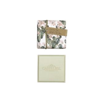 CASTELBEL - Pain de savon parfumé poire Cactus 145g