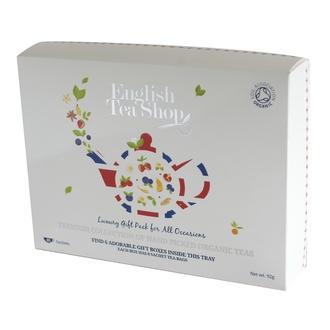 ENGLISH TEA SHOP - Coffrets les classiques: Thés bio et infusions 48 sachets