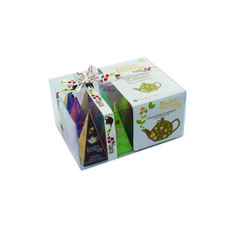 ENGLISH TEA SHOP - Coffret 12 pyramides thé et infusions bio