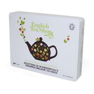 ENGLISH TEA SHOP - Coffret de 36 sachets de thé Classique bio