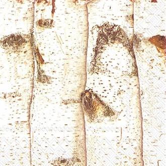20 serviettes 33x33 cm birch mix