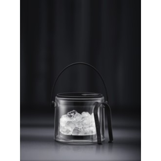 BODUM - Seau à glace double paroi noir