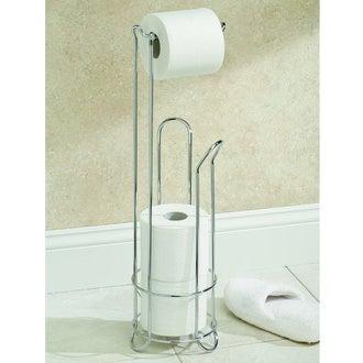 INTERDESIGN- Porte papier de toilette et support pour rouleaux de papier