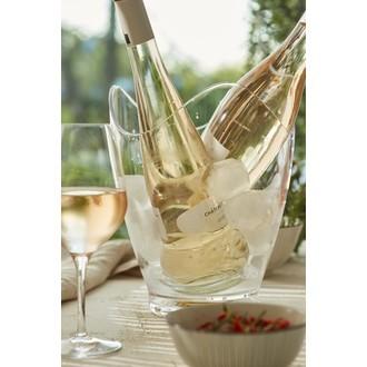 Seau à champagne en acrylique