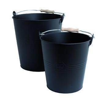REDECKER - Seau métal zingué noir 10L