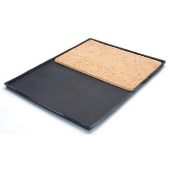LEKUE - Caisse pour génoise en silicone noir 40x30cm