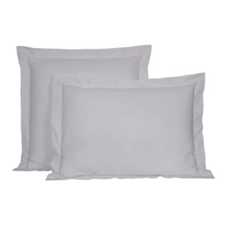 Maom - taie d'oreiller rectangle en percale nuage 50x70cm