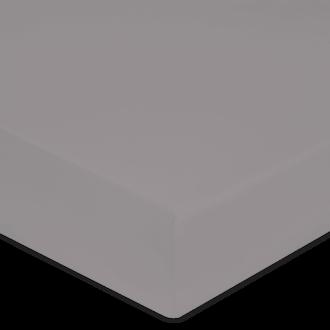 Maom - drap housse en percale cendre 180x200cm