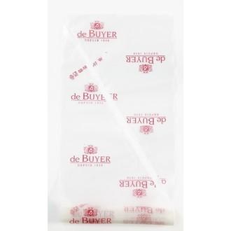 DE BUYER - Rouleau de 20 poches jetables en plastique 40cm
