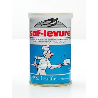 SAF - Levure sèche active de boulangerie boite refermable 125g