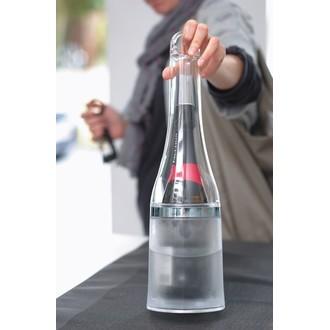LA CHAISE LONGUE - Seau à champagne bouteille en acrylique transparent