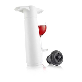 VACUVIN - Coffret pompe vin blanc + 2 bouchons