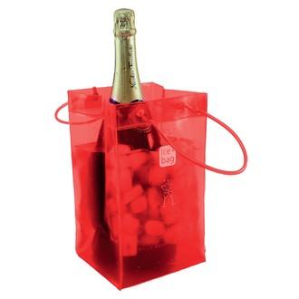 Ice pack pour deux bouteilles XXL rouge
