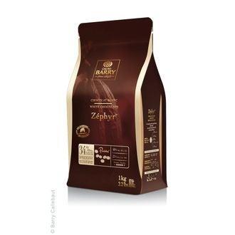 BARRY - Chocolat de couverture blanc en pistoles Zephyr 1kg