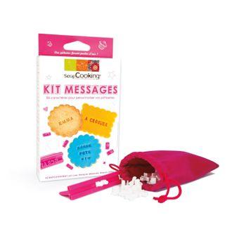 SCRAPCOOKING - Kit messages pour biscuit