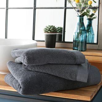 Maom - serviette de bain en coton éponge caviar 100x150cm