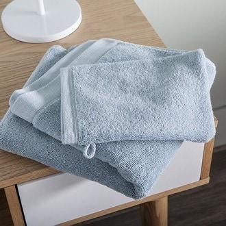 Maom - serviette de bain en coton éponge écume 100x150cm