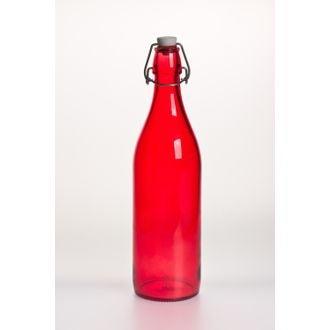 Bouteille à limonade rouge 1L