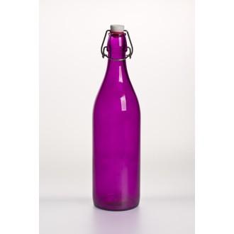 Bouteille à limonade violet 1L