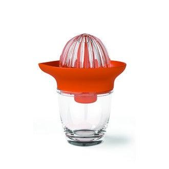 AUBECQ - Presse agrume à deux têtes orange