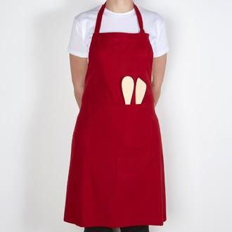 WINCKLER - Tablier de cuisine en coton rouge Trend 80x102cm