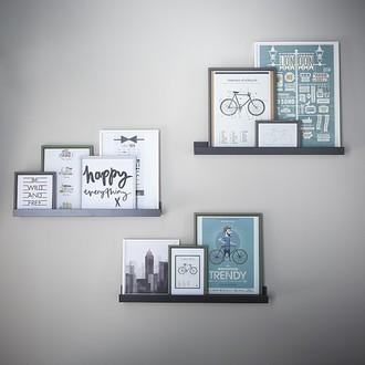 Zodio - cadre photo en bois brume 10x15cm