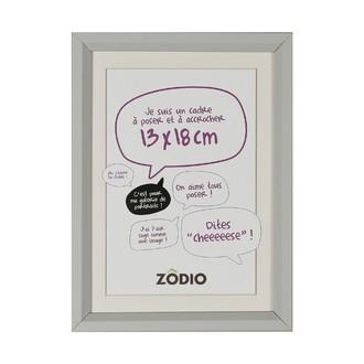 Zodio - cadre photo en bois brume 13x18cm
