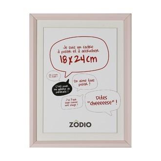Zodio - cadre photo en bois blush 18x24cm