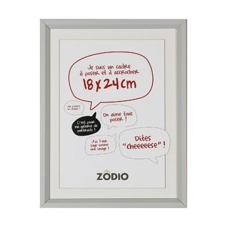 Zodio - cadre photo en bois brume 18x24cm