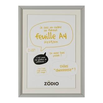 Zodio - cadre photo en bois brume 21x29,7cm