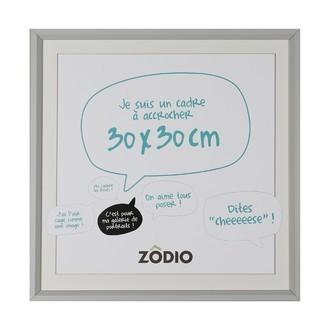 Zodio - cadre photo en bois brume 30x30cm
