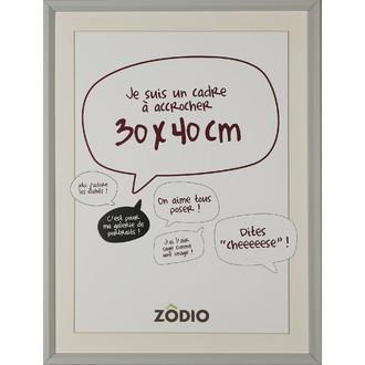 Zodio - cadre photo en bois brume 30x40cm