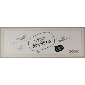 Zodio - cadre photo en bois brume 33x95cm