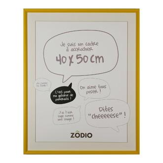 Zodio - cadre photo en bois moutarde 40x50cm