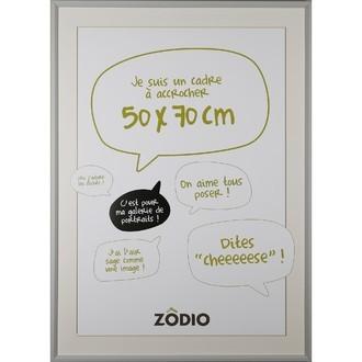 Zodio - cadre photo en bois brume 50x70cm