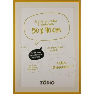 Zodio - cadre photo en bois moutarde 50x70cm