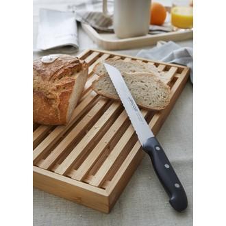 Planche à pain en bambou 42,5X23X3,5cm