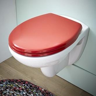 ZODIO - Abattant pour wc declipsable cranberry