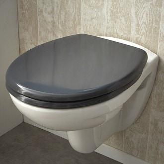 ZODIO - Abattant pour wc declipsable zinc