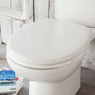 Zodio - abattant pour wc declipsable blanc
