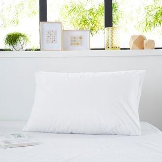 ZODIO - Protège oreiller en coton imperméable traitement anti acariens zippé 50x70cm