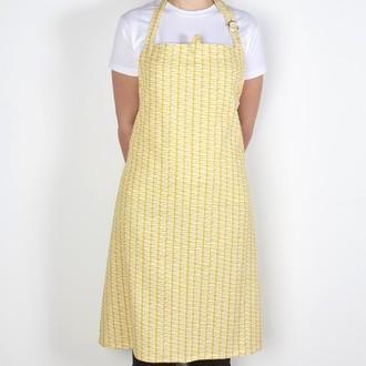 ZODIO - Tablier de cuisine imprimé goutte moutarde