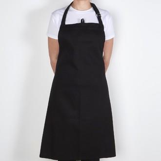 ZODIO - Tablier de cuisine en coton noir