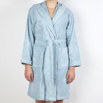 77546ed836e621 MAOM - Peignoir femme en coton éponge écume Taille M