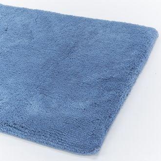 Tapis de bain à mémoire de forme bleu givre 60x100cm