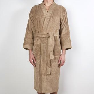 ZODIO - Peignoir en coton éponge ficelle Taille XL