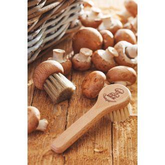 REDECKER - Brosse à champignons avec manche en hêtre huilé